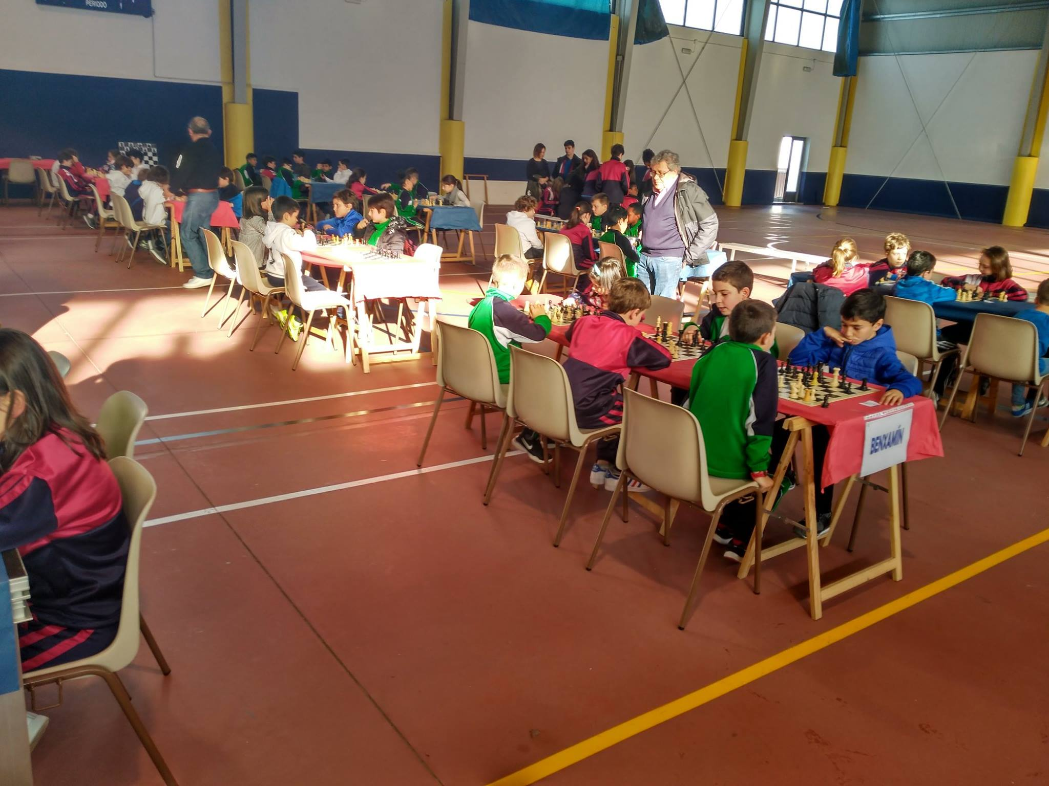 Seguemento De Eventos Deportivos Colexio Do Pilar # Muebles Huertas Lourenza
