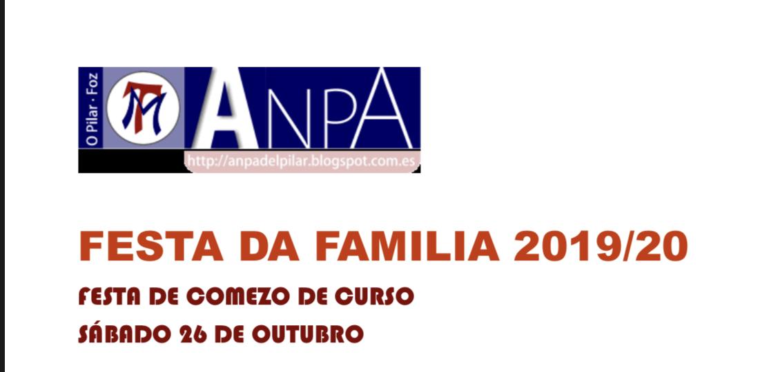 FESTA DA FAMILIA 2019/20