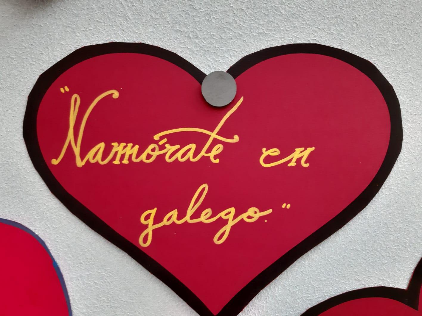 NAMÓRATE EN GALEGO EN SAN VALENTÍN